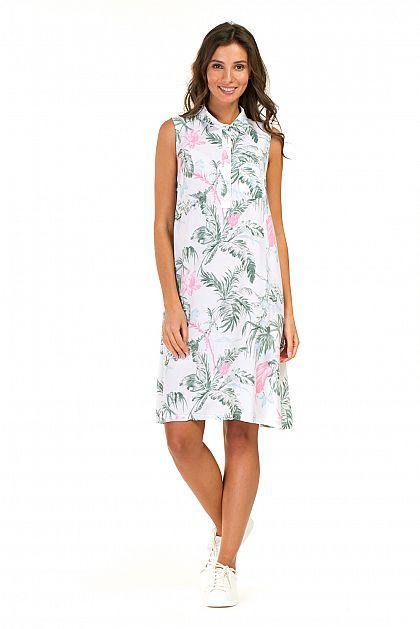 8c1090c7955 Платье-рубашка без рукавов B457097 -     index+1