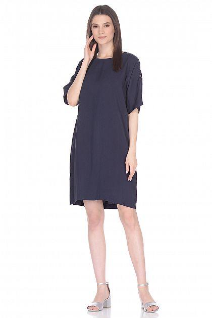 9dbe3006ea6 Свободное платье с кнопками B458011 -     index+1