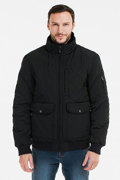 8abff73855e Стеганая куртка с воротником из овчины B536506 -     index+1