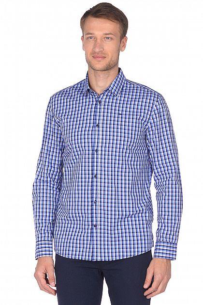 61efecff87c Рубашка в синюю клетку B668527 -     index+1