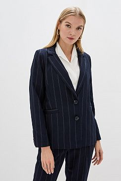 Baon, Жакет в полоску B129504, DARKNAVYSTRIPED
