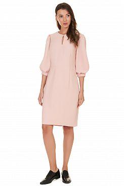 Baon, Платье с вырезом-каплей B457505, DUSTYFLAMINGO